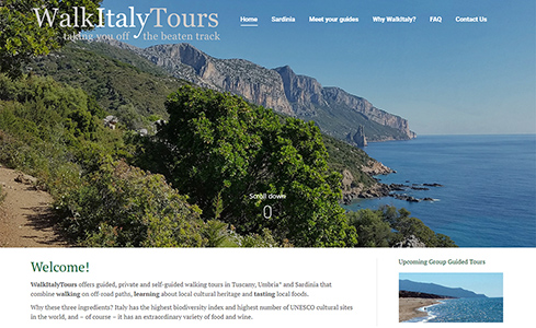 WalkItaly Tours - Guided walking tours of Tuscany and Sardinia